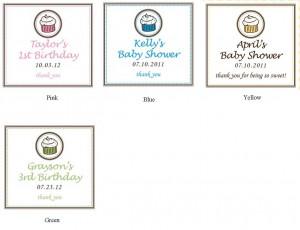 Cupcake Cutie Personalized Cupcake Mix