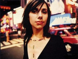Hugely respected songwriter PJ Harvey has performed her new song 'Let ...