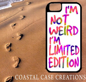 Colorful Vibrant Limited Edition Quote Apple iPhone 4 4G 4S 5G Hard ...