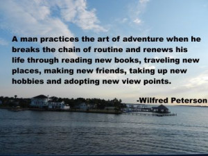 Quote from Wilfred Peterson