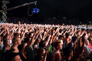 Audience at concert picture