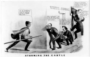 Description Storming the castle (1860 election).jpg
