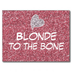 Funny Blonde Cards & More