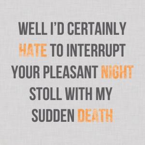 TMI Clary's quote