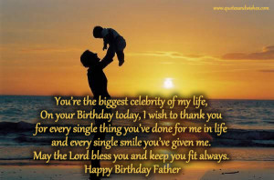 Happy Birthday greetings for father, birthday wishes for father ...