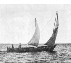 ... midships in bad weather there d be just the smaller sail in the main