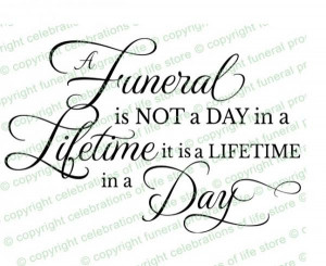 Funeral quotes, d...