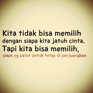 Quotes Galau Indonesia