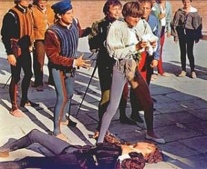 Mercutio's Death in Zeffirelli's Film
