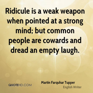 Martin Farquhar Tupper Quotes