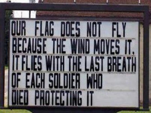 Thank God for Military Men and Women!