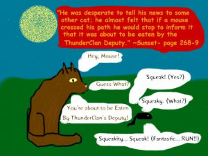 warrior cat sayings