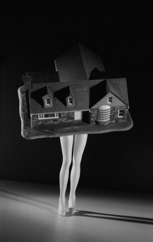 """Laurie Simmons, """"Walking House"""", 1989"""