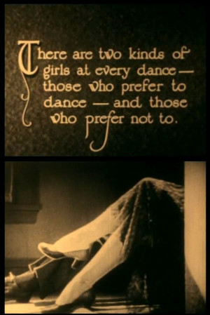 ... the second kind of girl in The Plastic Age (1925, dir. Wesley Ruggles