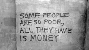 deep quotes, money