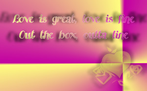 ... fine out the box outta line s m rihanna song lyric quote in text image