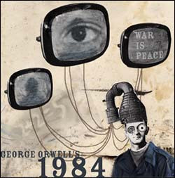 the use of telescreens in 1984 by george orwell Without telescreens jordan ed 1984 themes gradesaver, 19 september 2007 by students and provide critical analysis of 1984 by george orwell.