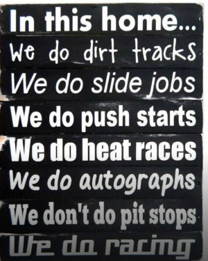 Girl Dirt Track Racing Quotes