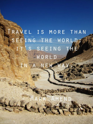 Mark Amend quote. Photo was taken in the Valley of the Kings, Luxor ...