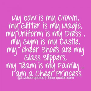 love my cheer team quotes