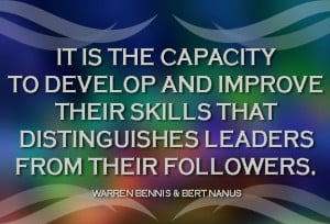 Distinguishes Leaders Leadership Quotes