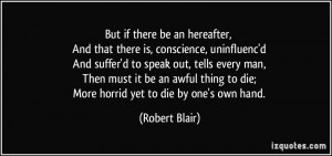 thing to die More horrid yet to die by one 39 s own hand Robert Blair