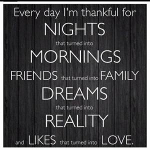 Thankful Thursdays!