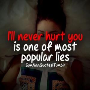 ll never hurt you...