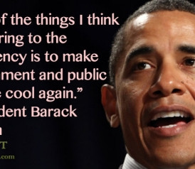 Quote of the Day: President Barack Obama on Public Service