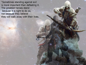 Assassin's Creed III - Connor by elenaksr