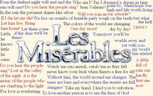 Les Miserables Les Miserables Ultimate Quotes