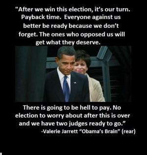 Valerie Jarrett - Obama's brain