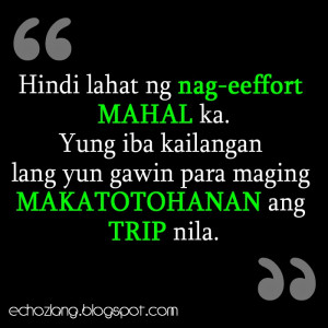 Love Quotes Kilig Wallpapers: Echoz Lang Tagalog Quotes Collection ...