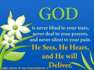 Inspirational Quotes on God and Faith Motivational Thoughts about God ...
