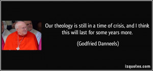 More Godfried Danneels Quotes