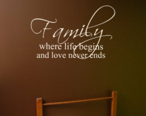 Family wall decal, Bible verse decal, Laundry Room decal, Bedroom wall ...