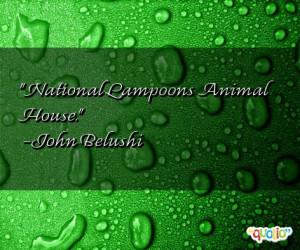 National Lampoons Animal House .