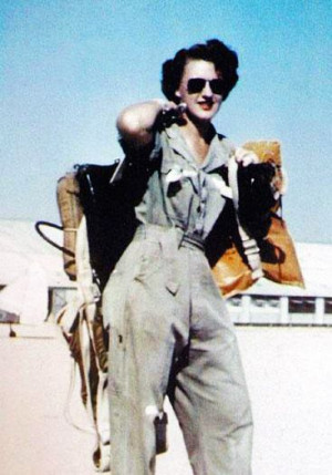 Lilian Yonally was a WASP – a Women Airforce Service Pilot. During ...
