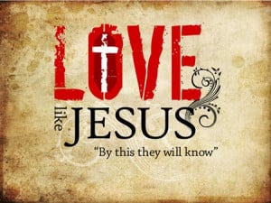 ... love i believe most christians can agree on that he represents love in