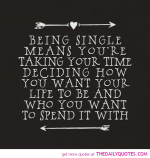 Being Single Quotes For Girls .