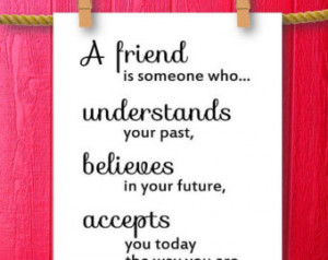 Best Friend Quotes Female To Male ~ Popular items for best friend gift ...