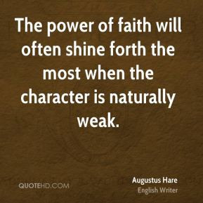 Power of Faith Quotes