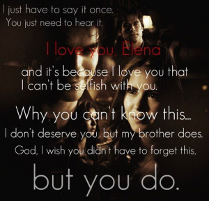The Vampire Diaries TV Show Quotes