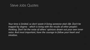 100 Awesome Quotes from Steve Jobs