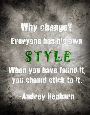 Audrey Hepburn #fashion #quote