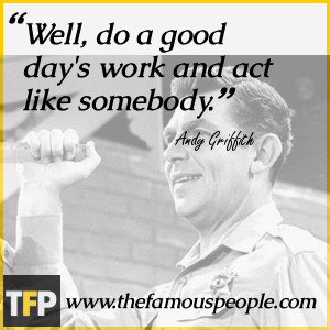 Andy Griffith Show Quotes