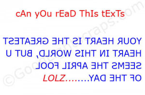 Can You Read This Texts