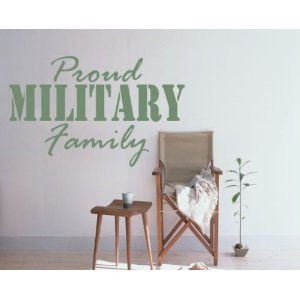Proud Military Wife Custom