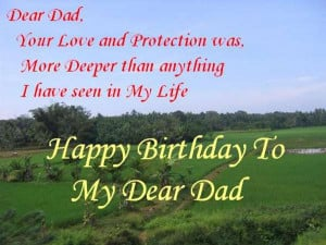Happy Birthday Quotes For Father With Images ~ Happy Birthday Quotes ...