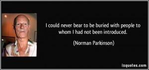 More Norman Parkinson Quotes